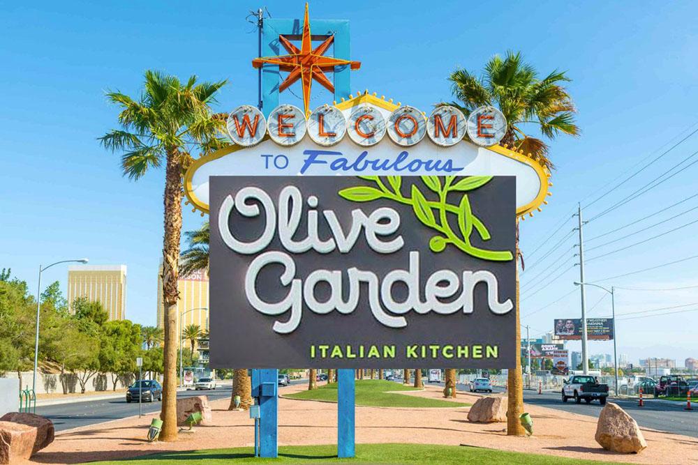 Olive Garden Di Las Vegas Strip